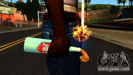 Molotov Cocktail from GTA 4 for GTA San Andreas third screenshot