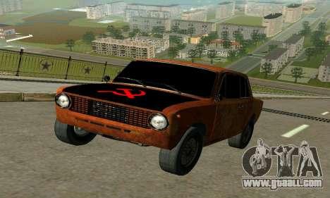 VAZ 2101 Ratlook v2 for GTA San Andreas left view