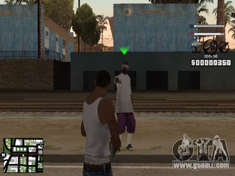 Nice C-HUD for GTA San Andreas