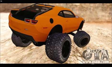 Chevrolet Camaro SUV Concept for GTA San Andreas right view