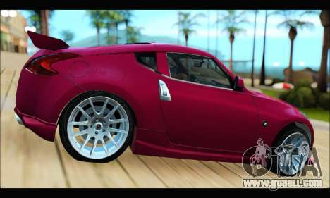 Nissan 370Z 2010 Stanced for GTA San Andreas left view