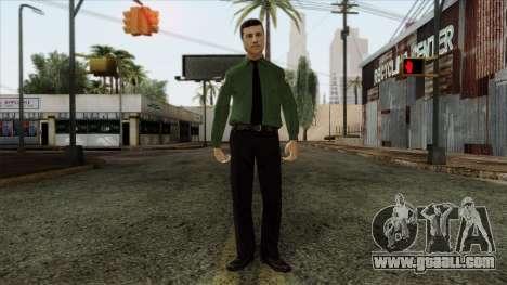Police Skin 8 for GTA San Andreas