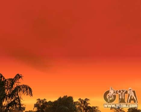 Realistic sky (Sky Mod) for GTA San Andreas third screenshot