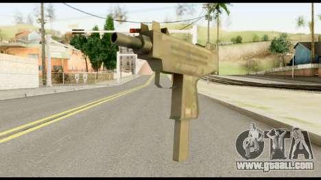 New Micro SMG for GTA San Andreas