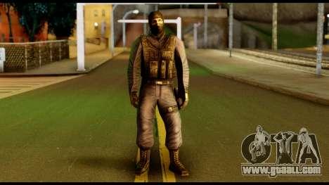 Counter Strike Skin 4 for GTA San Andreas