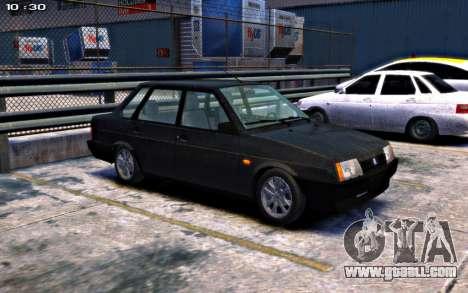 VAZ 21099 Stock for GTA 4 back left view