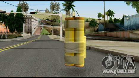 TNT from Metal Gear Solid for GTA San Andreas second screenshot