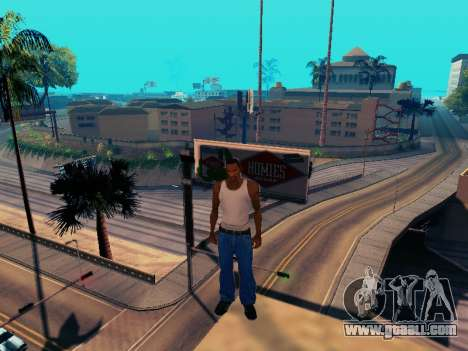 Graphic Mod Eazy v1.2 for weak PC for GTA San Andreas