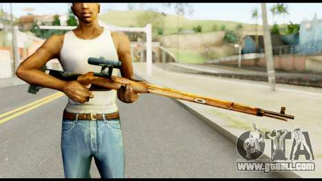 Mosin Nagant from Metal Gear Solid for GTA San Andreas third screenshot