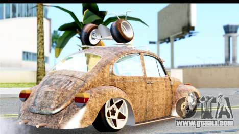 Volkswagen Beetle Vosvos 1973 for GTA San Andreas left view