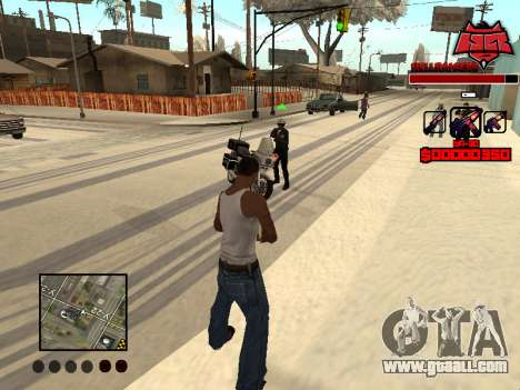C-HUD Raisers for GTA San Andreas forth screenshot