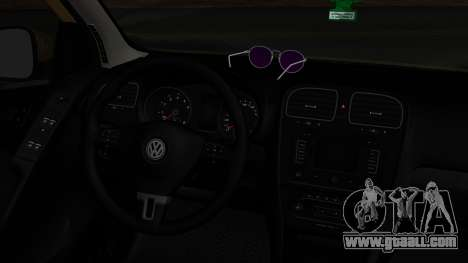 Volkswagen Golf 6 for GTA San Andreas back left view