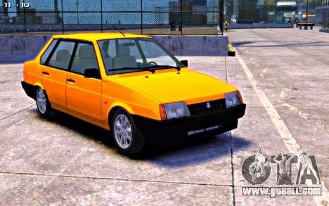VAZ 21099 Stock for GTA 4