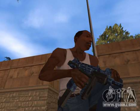 New Year's Weapon Pack for GTA San Andreas third screenshot