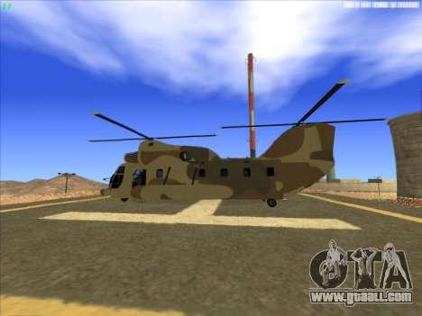 GTA 5 Cargobob for GTA San Andreas