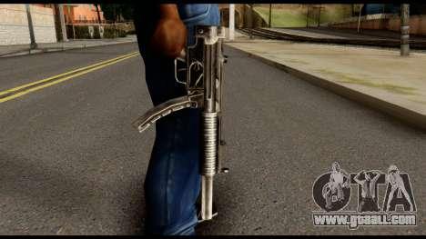 MP5 SD from Max Payne for GTA San Andreas third screenshot