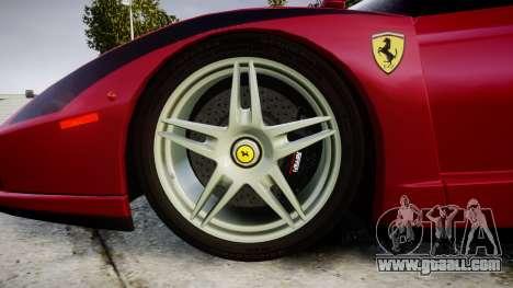 Ferrari Enzo 2002 [EPM] Stripes for GTA 4 back view