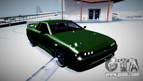 Elegy Stance for GTA San Andreas back left view
