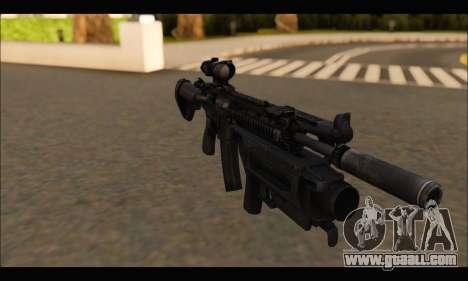 HK416 M320 Devgru for GTA San Andreas third screenshot