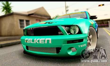 Ford Mustang Falken for GTA San Andreas