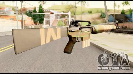 M16 from Metal Gear Solid for GTA San Andreas