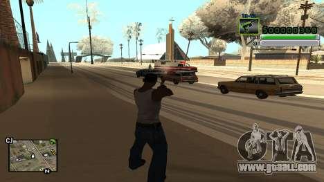 C-HUD v5.0 for GTA San Andreas