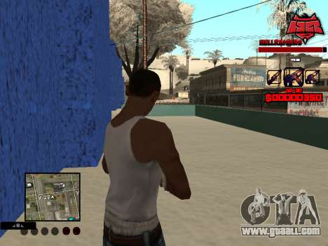 C-HUD Raisers for GTA San Andreas