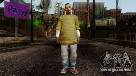 GTA 4 Skin 73 for GTA San Andreas