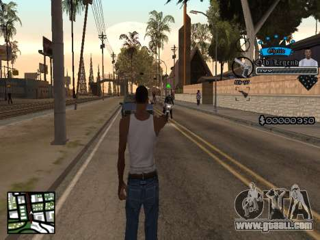 C-HUD Old Legend for GTA San Andreas