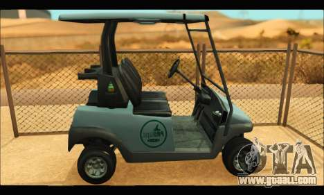 Caddy (GTA V) for GTA San Andreas left view