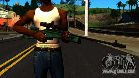 SV-98 without the Bipod and Scope for GTA San Andreas third screenshot