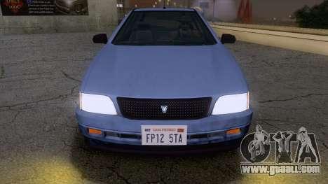 GTA V Ingot for GTA San Andreas back left view