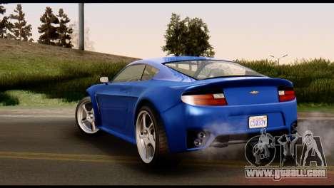 GTA 5 Dewbauchee Rapid GT Coupe [HQLM] for GTA San Andreas right view