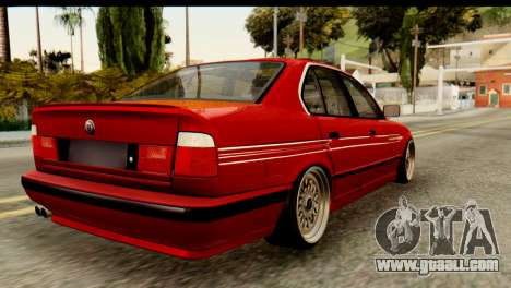 BMW M5 E34 Alpina for GTA San Andreas left view