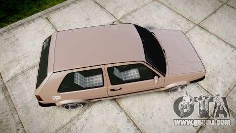 Volkswagen Golf MK2 GTi 1992 for GTA 4 right view