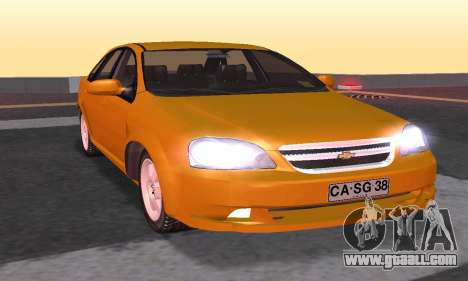 Chevrolet Lacetti for GTA San Andreas