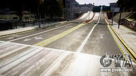 Texture roads high definition 2014 v1.2 for GTA 4 third screenshot