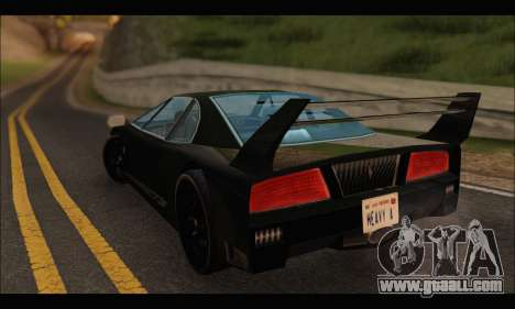Turismo Limited Edition for GTA San Andreas right view