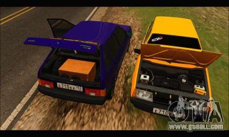 VAZ 2109 BPAN for GTA San Andreas