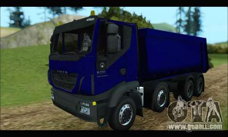 Iveco Trakker 2014 Tipper for GTA San Andreas