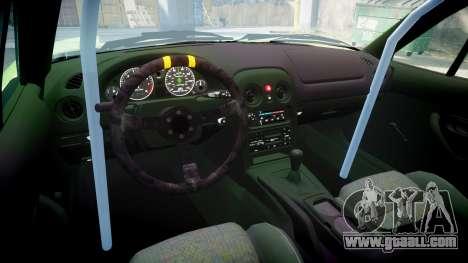Mazda MX-7 for GTA 4 inner view