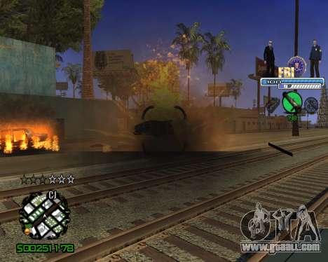 C-HUD FBI for GTA San Andreas forth screenshot