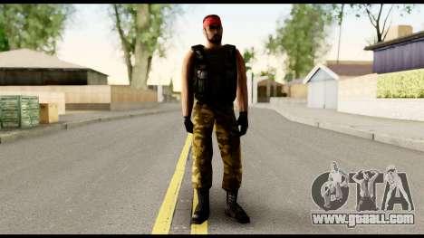Counter Strike Skin 1 for GTA San Andreas