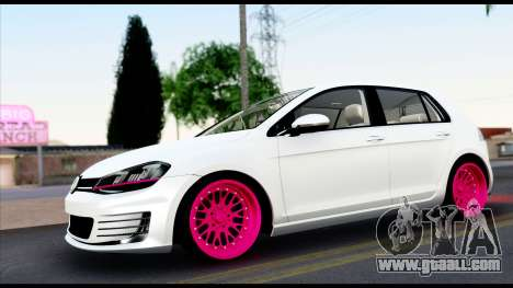 Volkswagen Golf 7 for GTA San Andreas