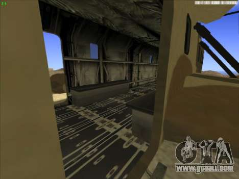 GTA 5 Cargobob for GTA San Andreas right view