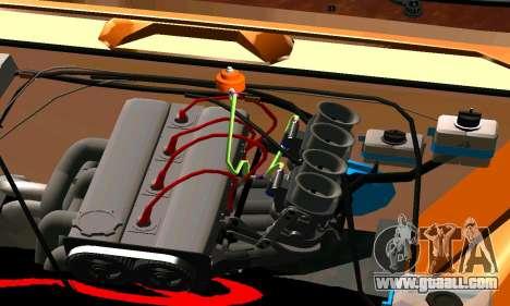 VAZ 2101 Ratlook v2 for GTA San Andreas back left view