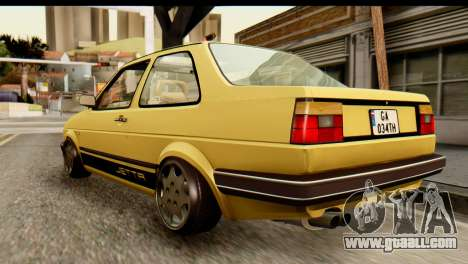 Volkswagen Jetta A2 Coupe for GTA San Andreas left view