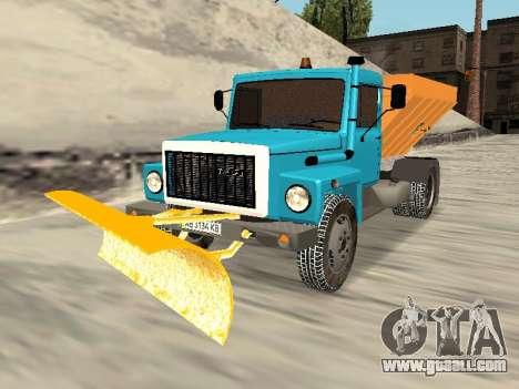 GAZ 3309 Snow for GTA San Andreas