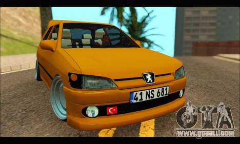 Peugeot 306 GTI (41 NS 681) (RC) for GTA San Andreas