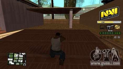 C-HUD NAVI for GTA San Andreas third screenshot